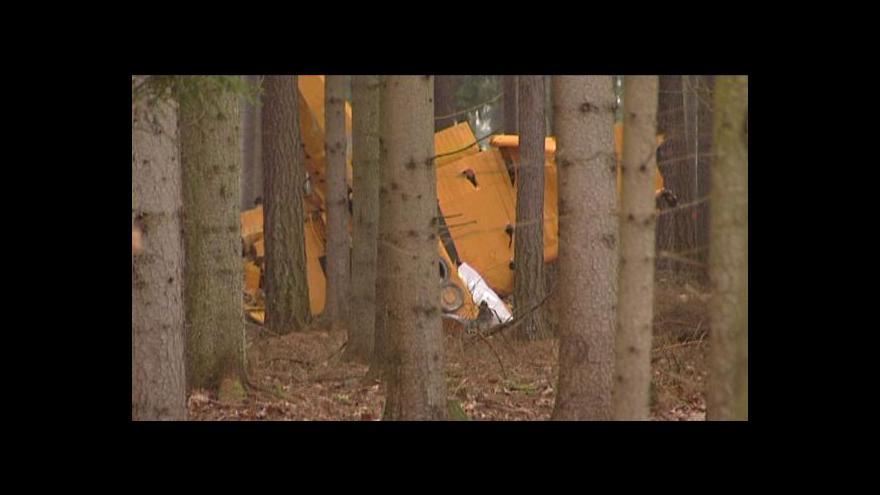Video Reportáž o pádu letadla na Chrudimsku