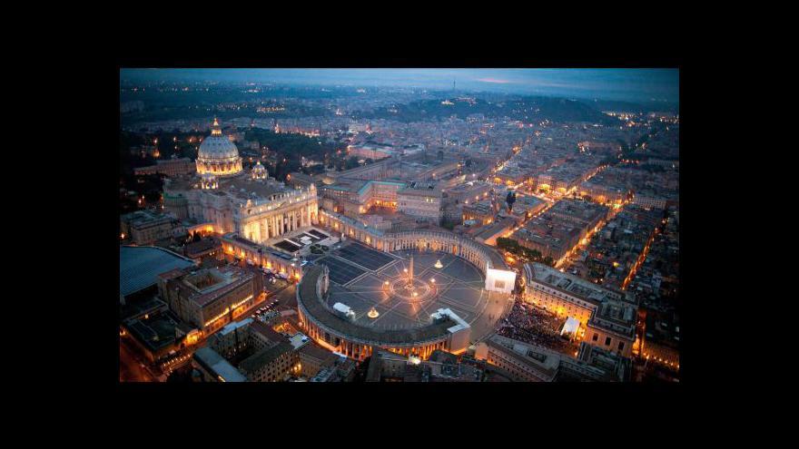 Video Reportáž Hany Scharffové o přípravách ve Vatikánu