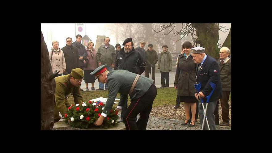 Video V Lánech si připomněli památku T.G.Masaryka