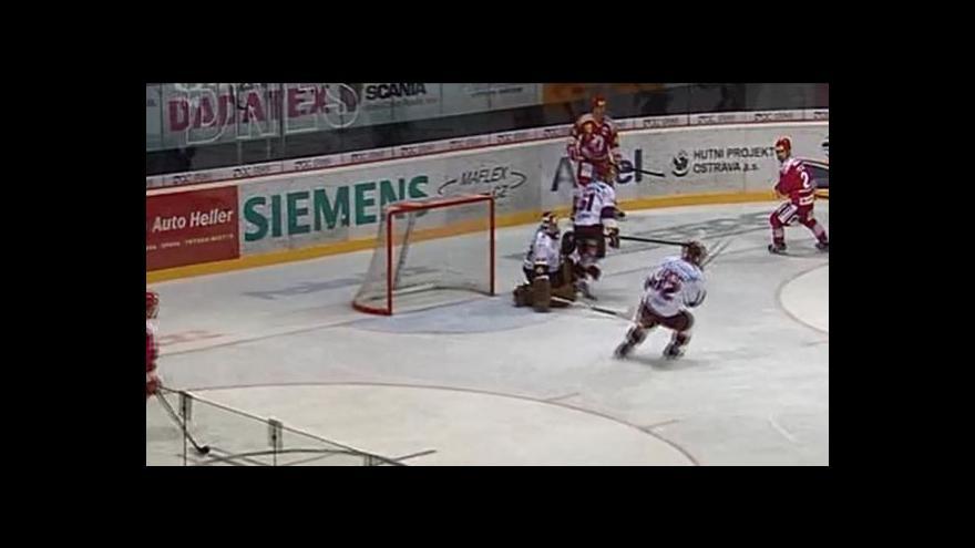 Video Růžička dal první gól v play-off - 3:0 (31. min.)