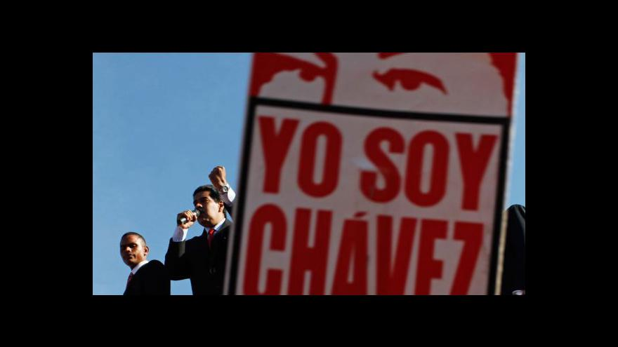 Video Nina Hönigová k pohřbu Huga Cháveze