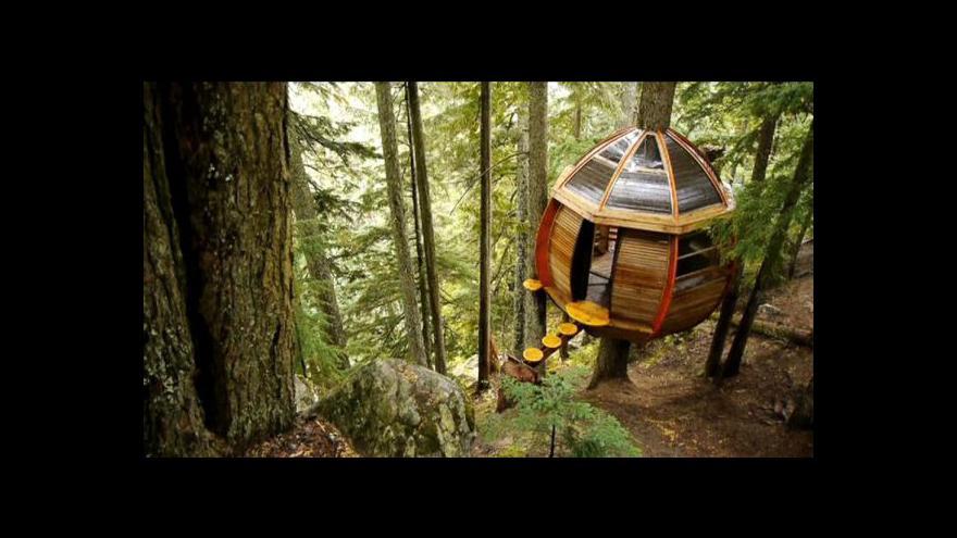 Video Kanadské ekologické stavby
