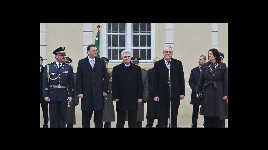 Video Inaugurace Miloše Zemana hlavním tématem Událostí