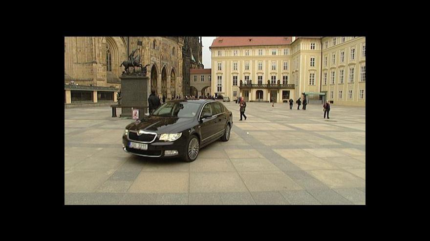 Video Reportáž o automobilu prezidenta