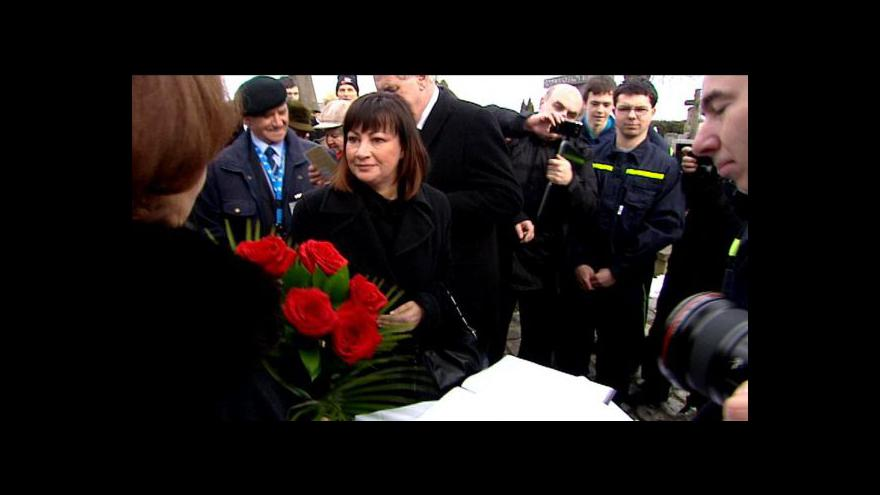 Video Ivana Zemanová se objevila po boku manžela Miloše