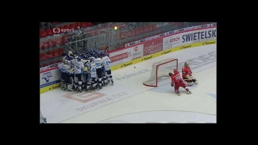Video Rozhodující gól Húževky ve 3. prodloužení (114. min.)