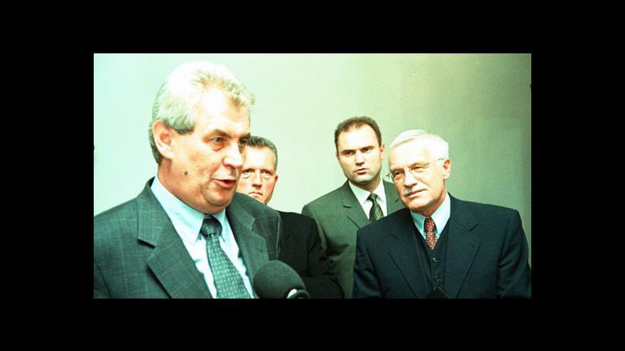Video Roman Češka o období privatizace i o úřadování Václava Klause