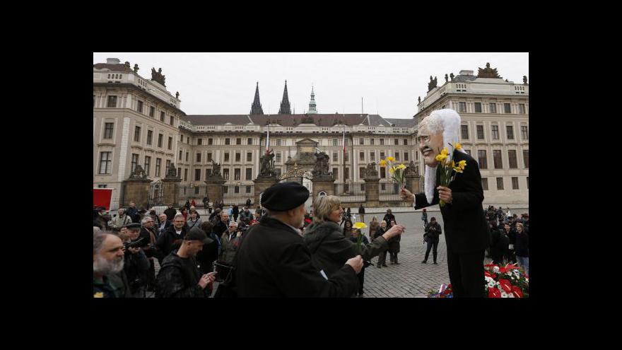 Video Vstup Antonína Šimůnka