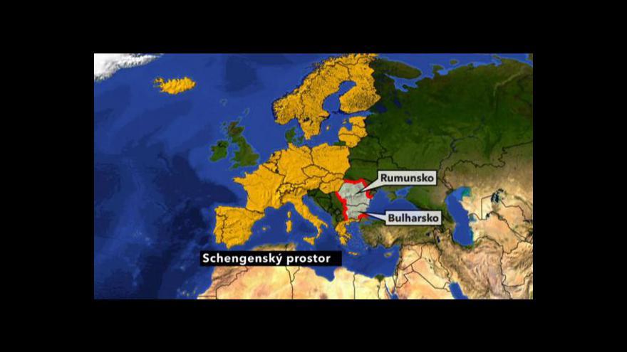 Video Přistoupení Bulharska a Rumunska k Schengenu
