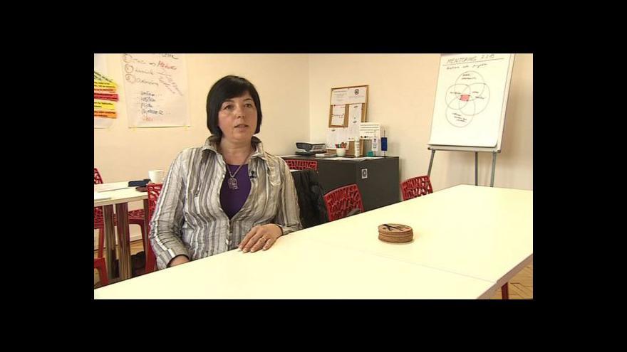 Video Hovoří Jitka Crhová, osobní mentorka kurzu