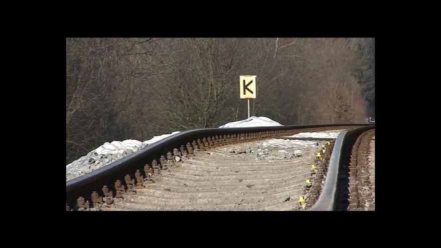 Video No comment: podemletá železnice