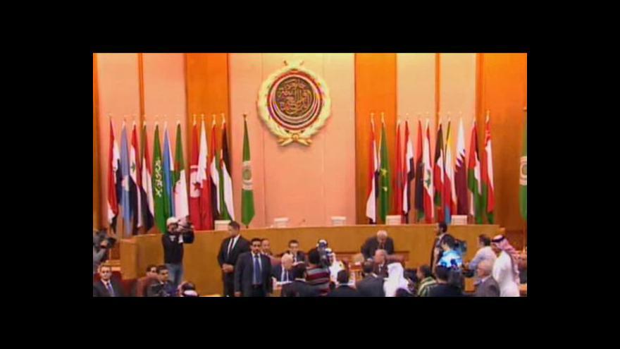 Video Liga arabských států přizvala syrskou opozici do svého bloku