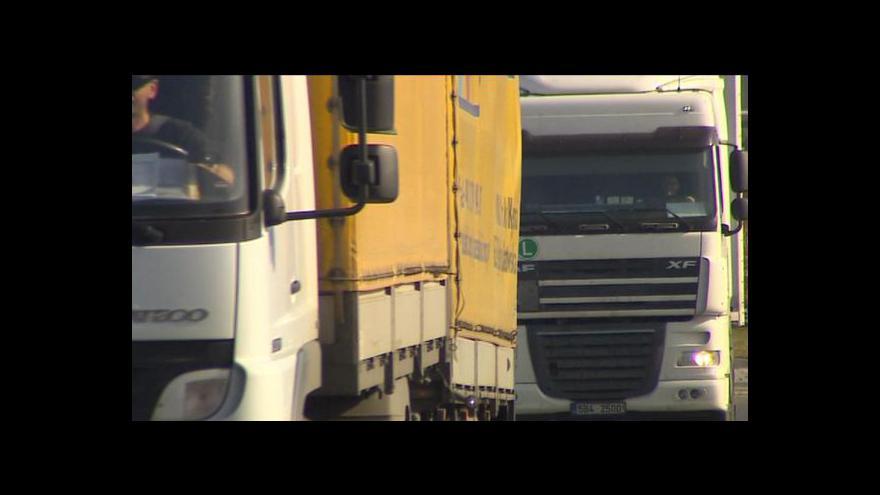 Video Lucie Pokorná o zákazech pro nákladní automobily