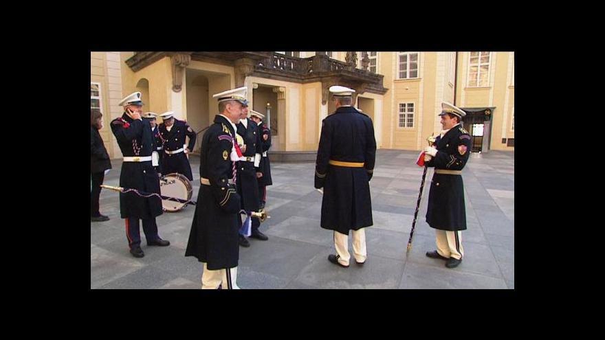 Video Přípravy na inauguraci v plném proudu