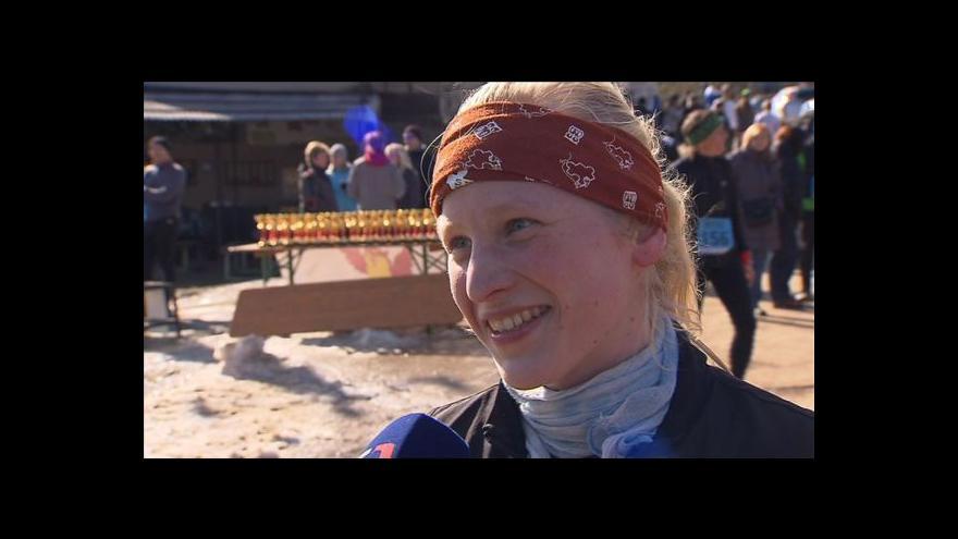 Video Rozhovor s vítězkou Lucií Matulovou