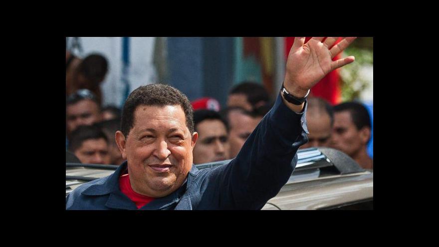Video Hugo Chávez prohrál boj proti rakovině
