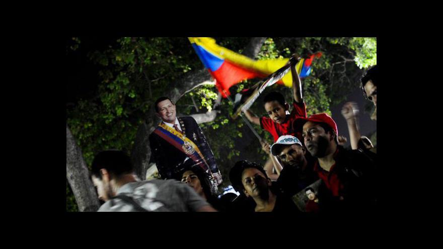 Video Události o smrti Huga Cháveze