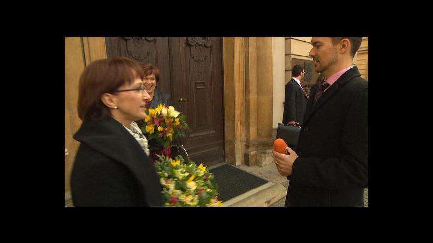 Video Klausova návštěva vlády tématem Událostí