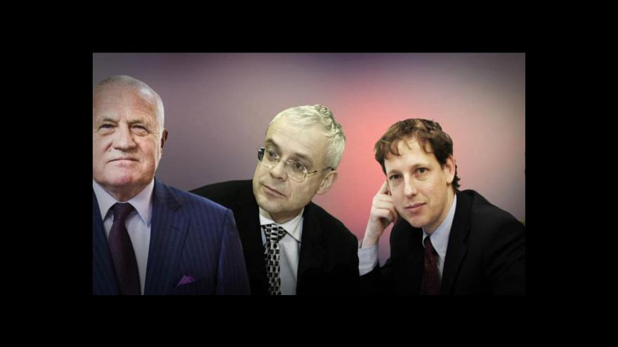 Video Co o Klausovi řekli bývalí premiéři?