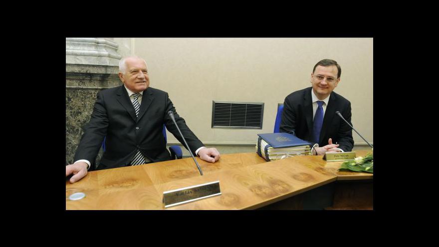 Video Poslední prezidentské dny Václava Klause tématem Událostí, komentářů