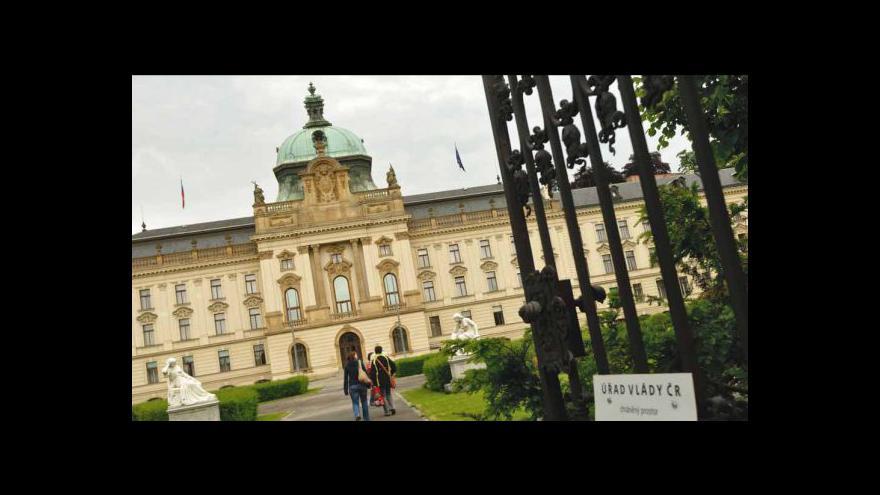 Video Reportáž o Klausově návštěvě Strakovy akademie
