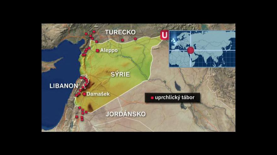 Video Reportáž Událostí - před boji v Sýrii prchlo už milion lidí