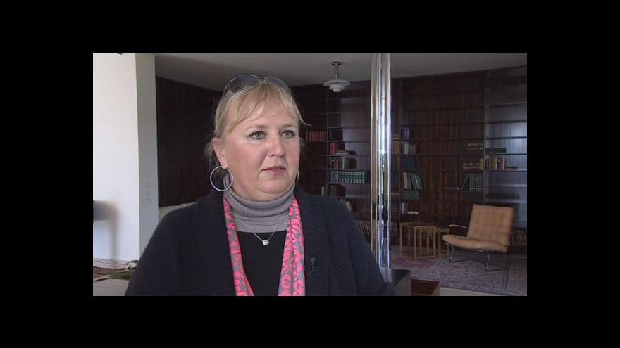 Video Iveta Černá o přípravě vily před setkáním