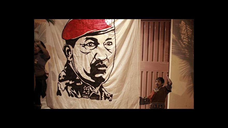 Video Chávez bude pohřben v pátek, Venezuela se ponořila do smutku