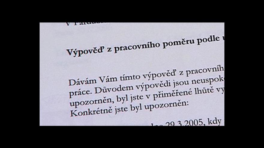 Video Erik Knajfl o odškodnění propuštěného úředníka