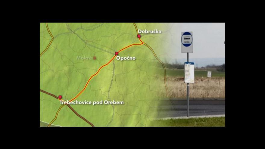 Video Vlastimil Weiner o omezení regionálních autobusů