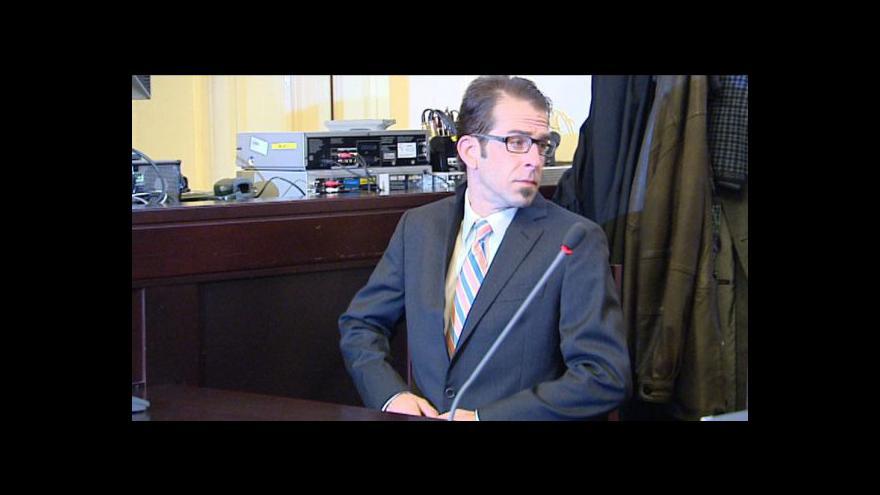 Video Reportáž o Blythově soudu