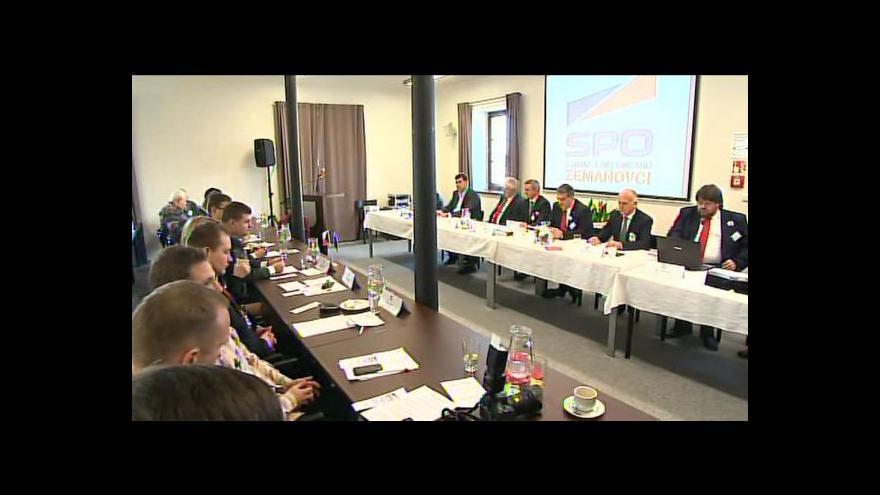 Video Zeman zavítal na zlínskou konferenci SPOZ