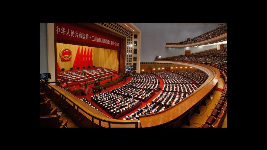 Video Zasedá čínský parlament