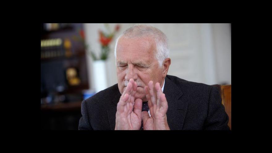 Video Václav Klaus dokázal vždy vyvolat rozruch