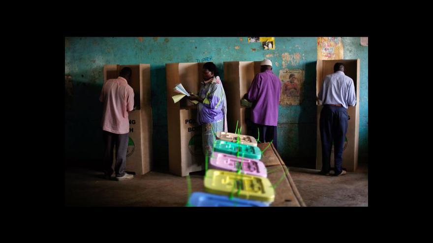 Video Keňa čeká na výsledky voleb