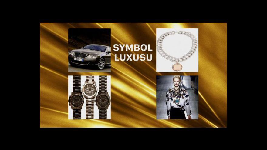 Video Luxusní zboží nadále boduje