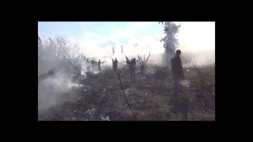 Video Sýrie: Počet obětí posledních střetů dosahuje stovek