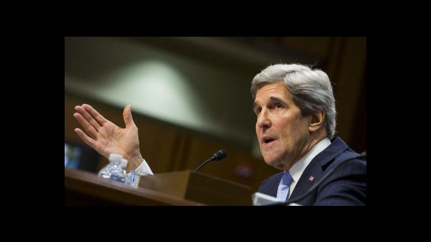 Video Kerryho cesta po Blízkém východě