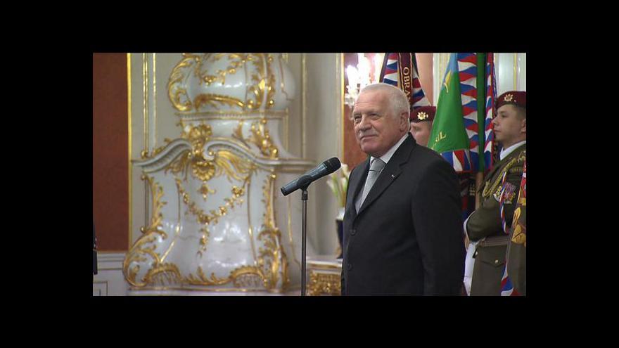 Video Loučení Václava Klause tématem Událostí