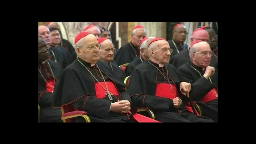Video Ve Vatikánu se sejde kolegium kardinálů