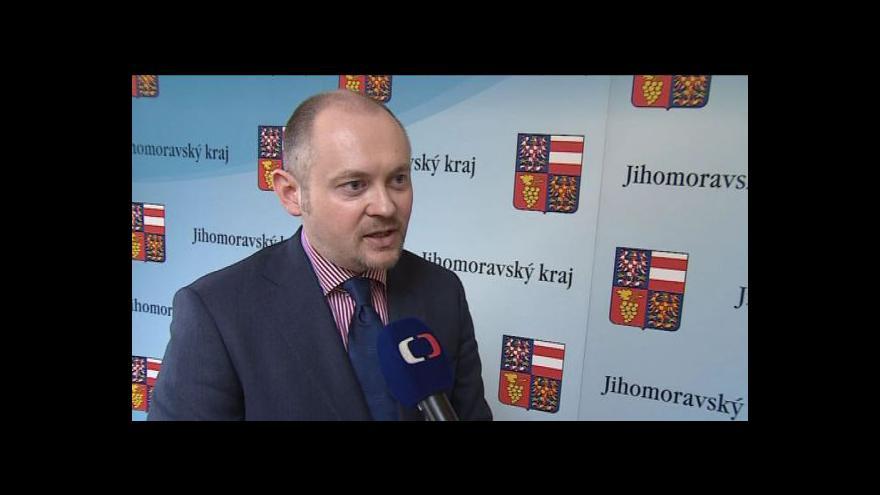 Video Hovoří jihomoravský hejtman Michal Hašek