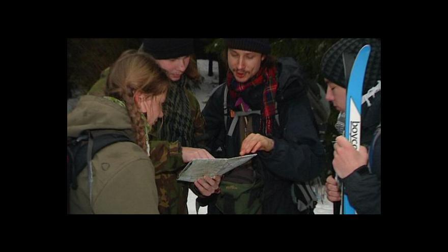 Video Sčítání šelem v Beskydech