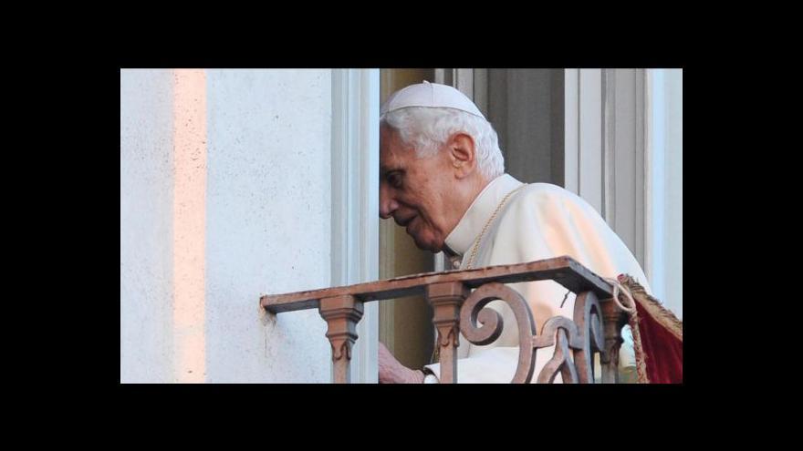 Video Odchod Benedikta XVI. tématem Událostí
