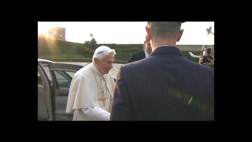 Video Odlet papeže z Vatikánu