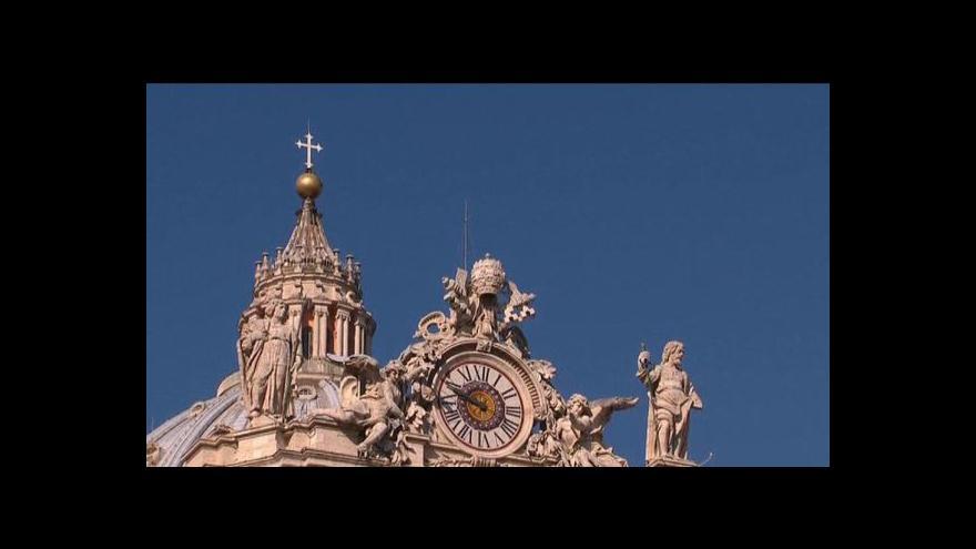 Video Benedikt XVI. oficiálně skončí ve funkci