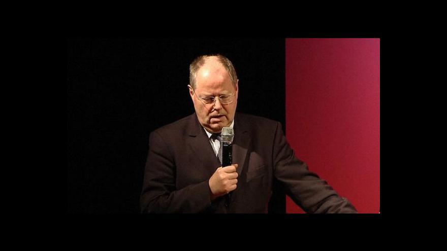 Video Peer Steinbrück o italských volbách