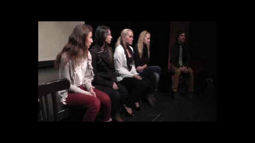 Video Reportáž Lucie Lichtenbergové