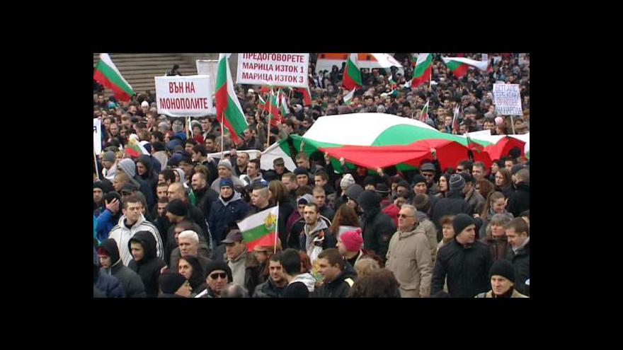Video Situace v Bulharsku je stále neklidná