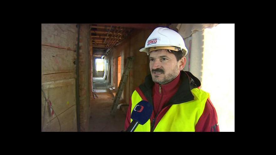 Video Stavbyvedoucí Pavel Láníček popisuje průběh rekonstrukce