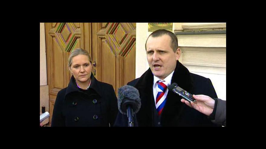 Video Brífink VV o trestním oznámení na vládu kvůli loteriím